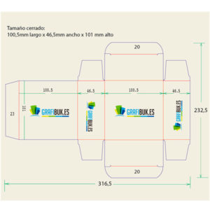 Caja embalaje 86744-86763