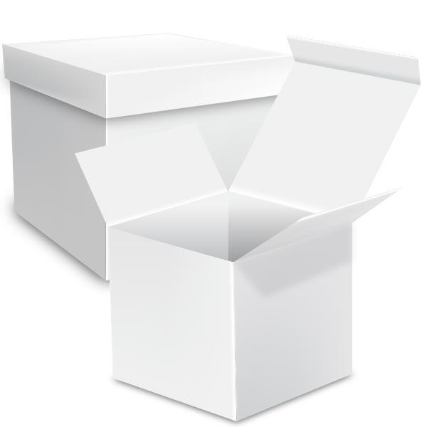 Caja embalaje cubo